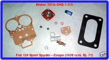 Fiat 124 SC,Coupe,Spyder,Weber 34 DHS,Vergaser Rep.Kit