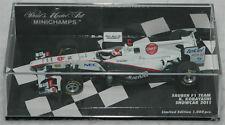 Kamui Kobayashi Minichamps 1/43 2011 Sauber Racing Diecast Model