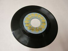 TAMMY WYNETTE singing my song/d i v o r c e divorce  45 Record NM