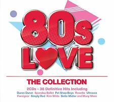 VARIOUS ARTISTS - 80'S LOVE - THE COLLECTION: 2CD ALBUM SET (2015)