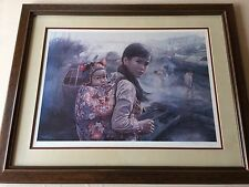 "Wai Ming ""Mother and Child #1"" Limited Edition Lithograph Print with COA, Framed"