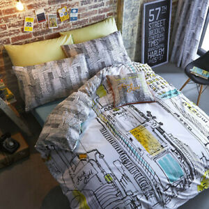 Times Square New York NYC Sketch Cushion Cover