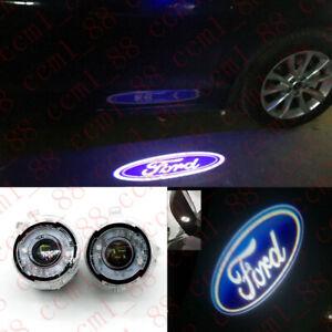 LED Side View Mirrow Goast Shadow Lights For Ford Edge Explorer Flex Fusion F150