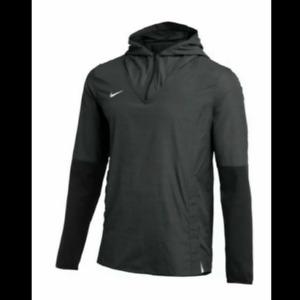 Nike Activewear Lightweight Player Jacket- Black/Gray Men CI4477-060 Size S NEW