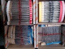 La raccolta Z-diodi raddrizzatori a diodi Universal diodi etc resto ca 250-400 unità.