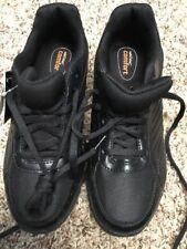 Safe T Step Slip Resistant Men's Size 6.5 W Black Shoes Apollo Brand New Nwts