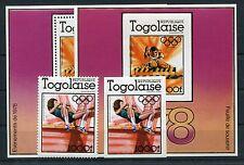Togo 1279 Block 126 je A + B postfrisch / Olympiade ......................1/2746