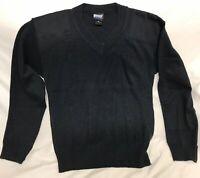 NWOT Blauer Commando 205 Dark Navy Men VNeck Sweater Size M *See Description*