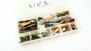 LARGE QUANTITY OF ASSORTED DEVON MINNOWS/ABU/UNNAMED TOBYS-LURES-MEPPS SPINNERS