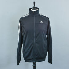 Retro Adidas Black Track Suit Zip Top Vintage Sportswear Men's Medium 38 40 42