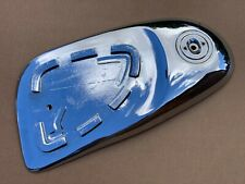 Used Genuine Right Hand Side Chrome Metal Cover Honda CA110 C110 CZ100