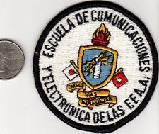 Vintage Latin America Military Signal School Patch Escuela De Comunigacions