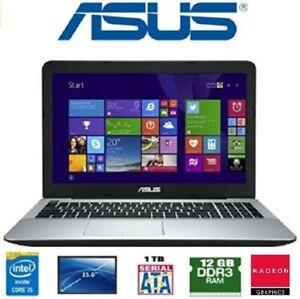Notebook ASUS F555L - Intel core I5 4210U - RAM 12 GB - HD 1TB