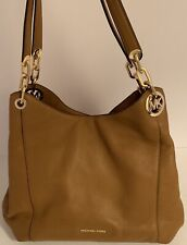 Michael Michael Kors Fulton Large Acorn Charm Shoulder Tote Bag