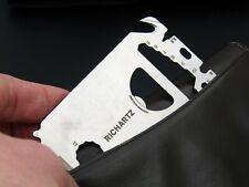 RICHARTZ POCKET-TOOL L23,Pockettool im Kreditkarten-Format, Multitool,Tool, EDC