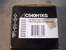 Toner for Lexmark C540 C543 C544 C546 X543 X544 X546 X548 Black Toner C540H1KG