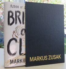 Signed Bridge Of Clay Markus Zusak LtdEdTrue1st/1st in slipcase xxx/500 preorder