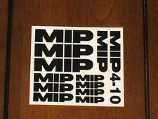 MIP M.I.P Moore's Ideal Products RC10 410 4-10 4WD Decal Sticker Sheet Vintage