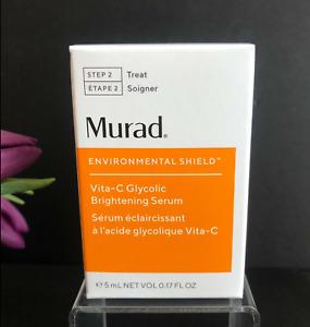 Murad Vita-C Glycolic Brightening Serum 5ml - New in Box