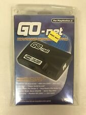 Brand New Go-Net Broadband Network Adapter For Sony Ps2