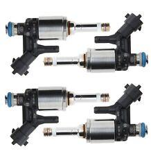 Set of 4 Bosch High Pressure Direct Fuel Injectors For Mini Cooper 1.6L L4 07-09