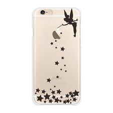 iPhone6 case 4.7 inch Tinker Bell Hard Case Cover Clear Black