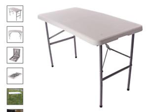Vaunt Folding Plastic Paste Table 1200mm