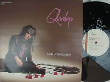 Quireboys ORIG UK PS 12 I don't love you anymore NM '90 Parlophone Hair Metal