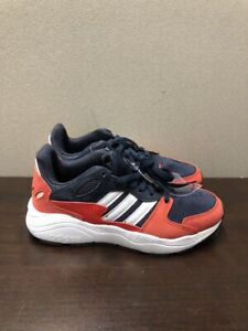 NWD Adidas Chaos J Navy/White/Red Boy's Sneakers - Assorted Sizes EF5309 Sz 5