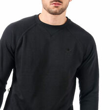 Adidas originals mens sweatshirt jumper top fleece black