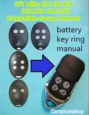 BFT Mitto 2M 4M 12V D111751 D111750 Compatible Garage/Gate Remote