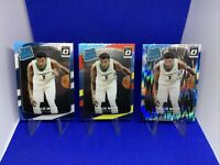 (3) 2017-18 Donruss Optic #190 Malik Monk Rated RC Shock / Red Yellow Prizm 📈🔥
