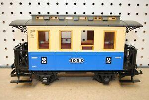 LGB 3012 Second (2nd) Class Blue Passenger Coach Car *G-Scale*