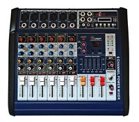 6 KANAL POWERMIXER 1200 Watt Sonderaktion neues Modell