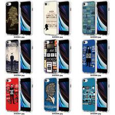 SHERLOCK HOLMES WATSON MORIARTY 221B PHONE CASE COVER TPU APPLE iPhone SHE00
