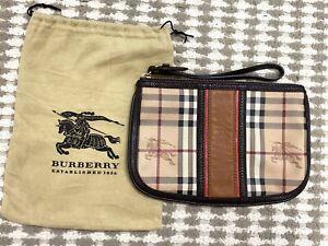 Authentic Burberry Pouch Clutch Bag