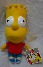 "Applause The Simpsons BART SIMPSON WINDOW CLING 7"" Plush STUFFED ANIMAL NEW"