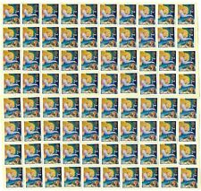 GB 100+ 2nd CLASS CHRISTMAS STAMPS £66 FACE VALUE UNFRANKED OFF PAPER WITH GUM