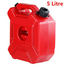 Universal 5 Litre Fuel Tank Jerry Cans Spare Plastic Petrol Tanks Oil Gasoline