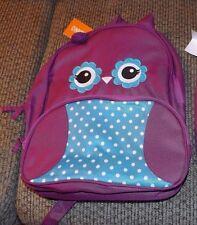 girls gymboree owl backpack nwt