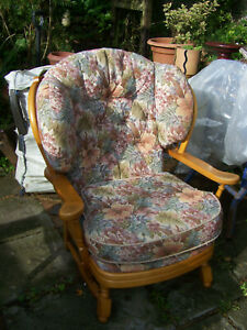 Country Cottage Style Easy Chair