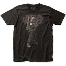 "Star Wars: The Mandalorian ""Boba Fett"" Jersey T-Shirt - S - 5X"