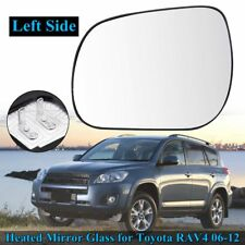 New Left Wing Door Heated Mirror Glass Lens with Base For Toyota RAV4 2006-2012