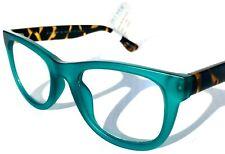 Lector de moda de Bloqueo de Luz Azul gafas de computadora para mujer Blueprint Verde Azulado Tiger