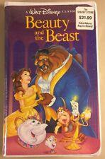 Beauty and the Beast VHS 1992 Walt Disney Black Diamond Classic New Sealed Rare