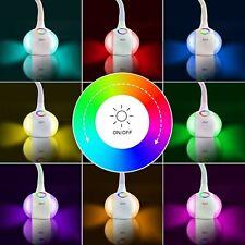 LED 5W Leselampe Atmosphärenlampe mit Schwanenhals Schreibtischlampe Büroleuchte