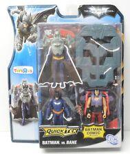 BATMAN vs BANE Mattel Action Figure TRU Exclusive Quick Tek w/ Comic 2011