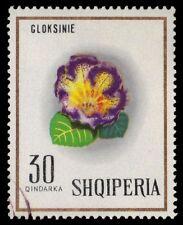 "ALBANIA 1151 (Mi1280) - European Wildflowers ""Gloxinia"" (pf9630)"