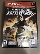 Star Wars: Battlefront (Sony PlayStation 2, 2004) NEW. GREATEST HITS.