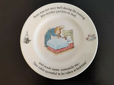 Wedgwood Peter Rabbit Bordje Peter was not very well during the evening